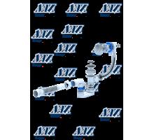 ЕМ 701 Обвязка Ани полуавтомат 520 мм, корпус плоский, ручка хромированная, гибкая труба