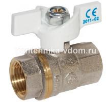 Кран шаровый  STC  ф 15 г/г баб.